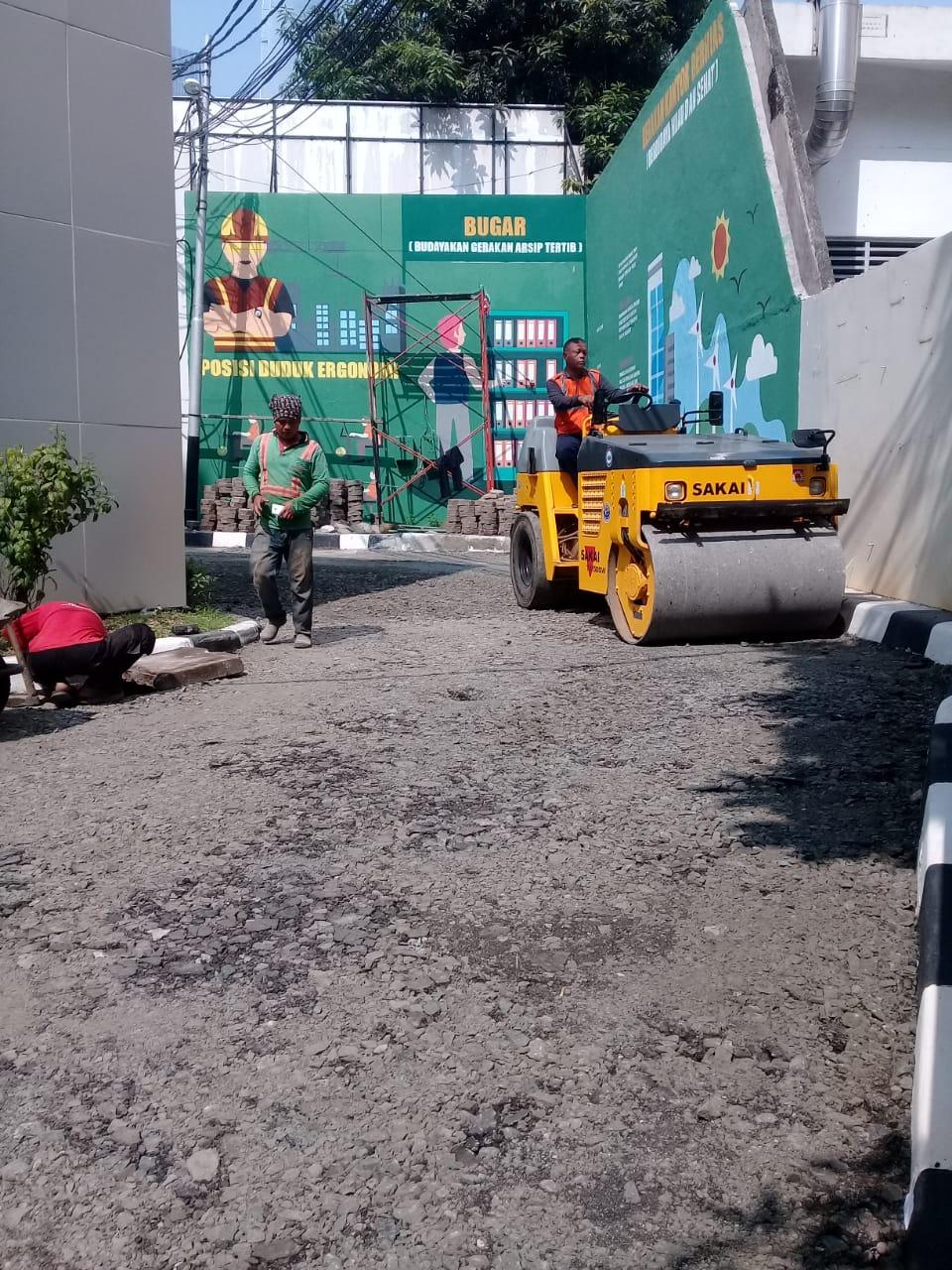 Jasa Pengaspalan Hotmix di Cirebon