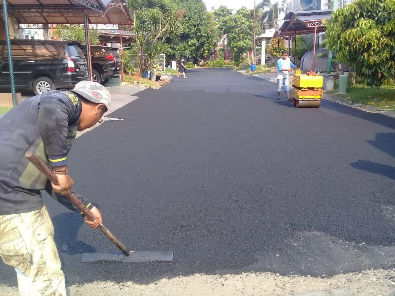 Jasa Pengaspalan Hotmix di Jawa Tengah